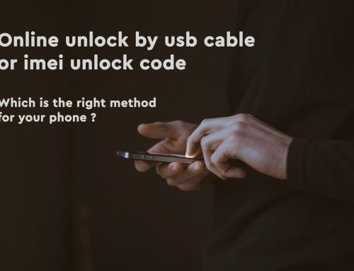 Online unlock by usb cable or IMEI unlock code -which is the right method for your phone?